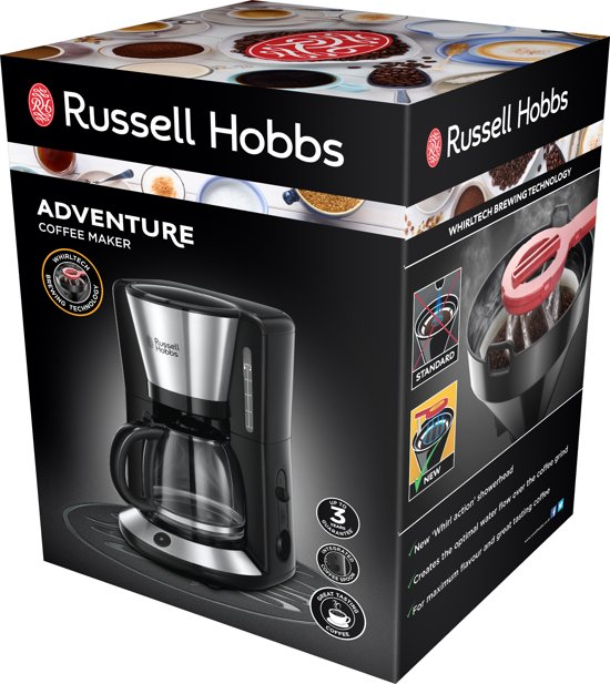 """""""Russell Hobbs Adventure Filter Koffiezetapparaat """""""