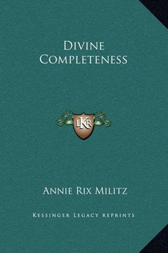 Divine Completeness