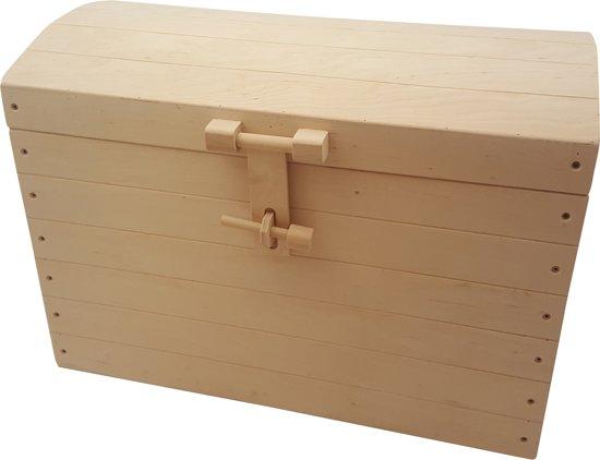 Playwood Houten Speelgoedkist - 36 Cm - Bruin