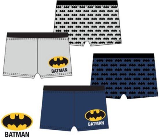 Batman zwemshort zwembroek grijs maat 128
