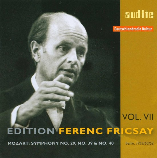 Edition Ferenc Fricsay (Vii) - W.A. Mozart: Sympho