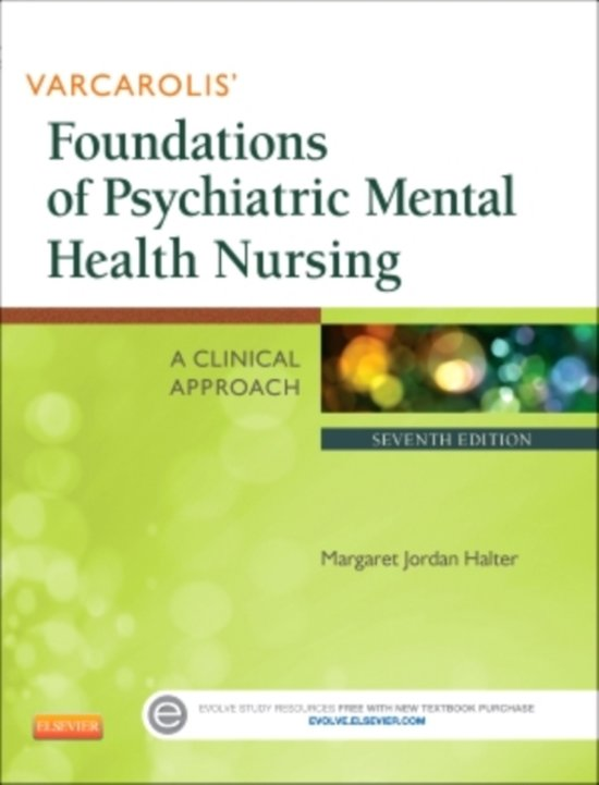 Varcarolis Foundations of Psychiatric Mental Health Nursing: A Clinical Approach, 7e