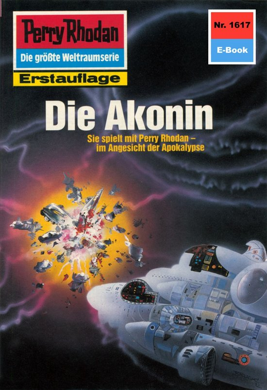 Perry Rhodan 1617: Die Akonin (Heftroman)