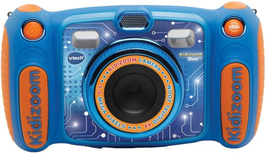 VTech Kidizoom Duo 5.0 Blauw - Kindercamera