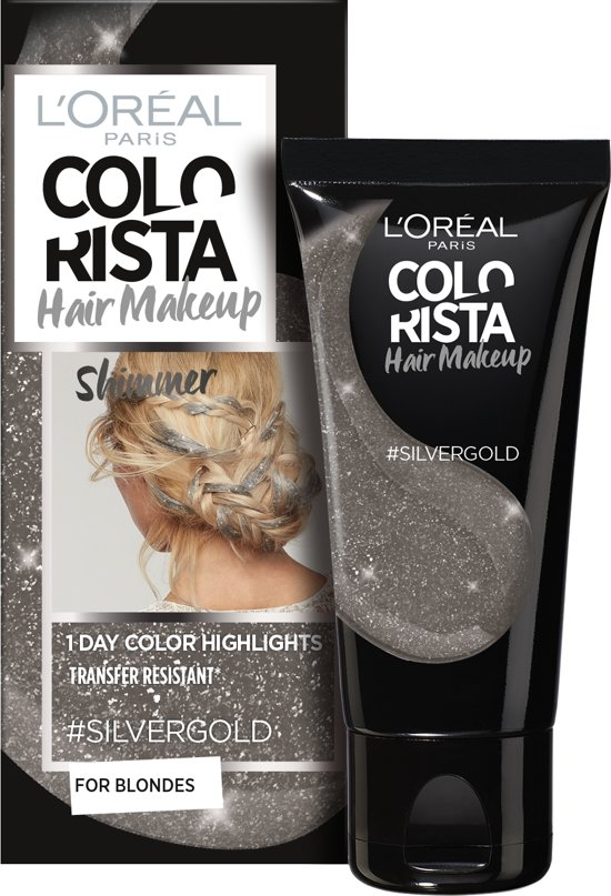 L'Oréal Paris Colorista Hair Makeup - Silvergold