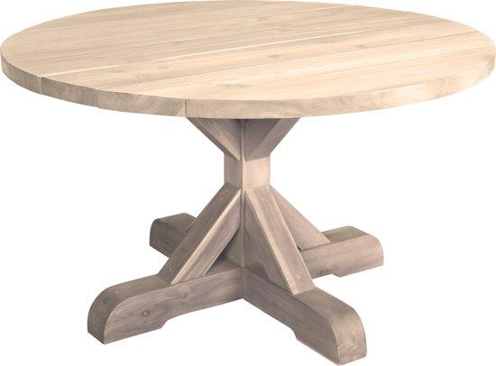 Eettafel oqui rond verlengbaar cm wit la forma lil