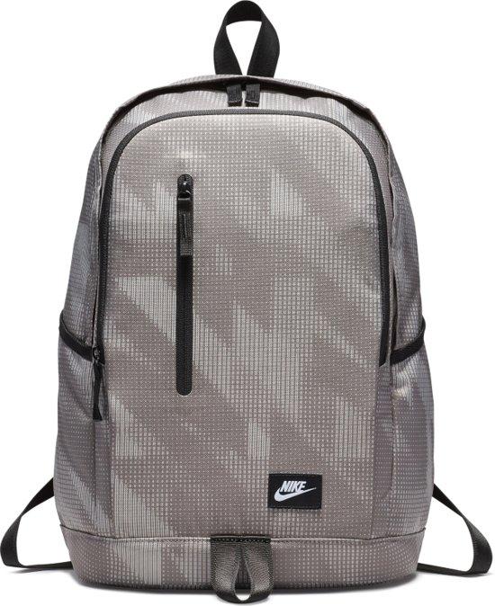 f05679b9871 Nike All Access Soleday Backpack- D Rugzak Unisex - Dark Stucco/Black/White