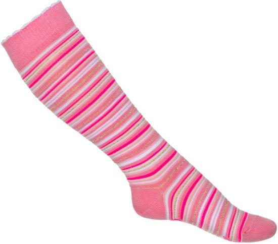 Mim-pi Meisjes Sokken - Roze - Maat 4-6 yrs