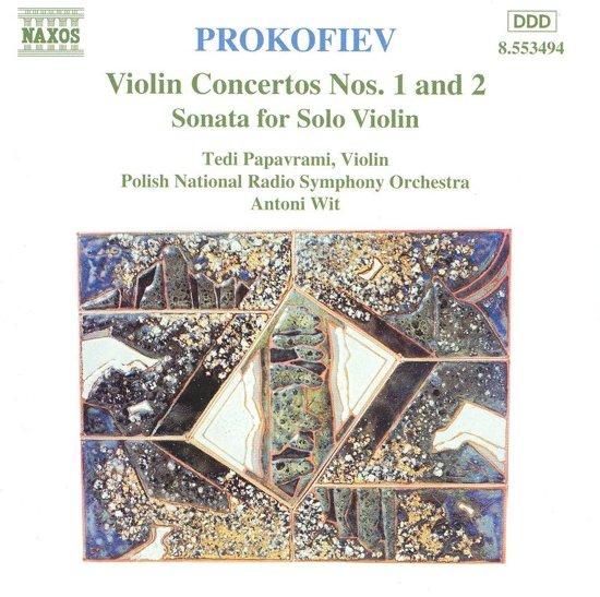 Prokofiev: Violin Concertos no 1 & 2, etc / Papavrami, Wit