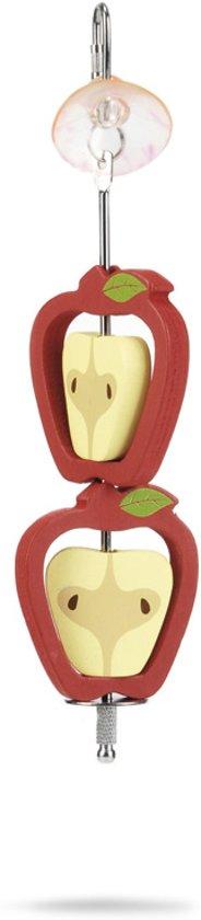 2 Appels - Knaagdierspeelgoed - Hout - 22 cm