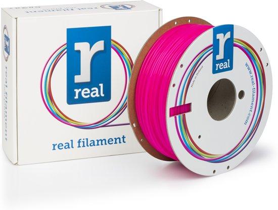 REAL Filament PLA fluoriserend roze 2.85mm (1kg)