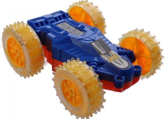 Jonotoys Omkeerbare Raceauto 10 Cm Blauw