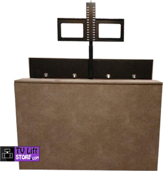 TV Lift kast Hilo taupe, met tv lift 10.2 (26 t/m 40 inch tv)