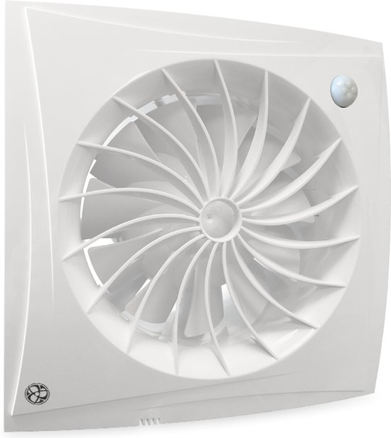 bol.com | Blauberg badkamer/toilet ventilator - sileo - Ø 125mm ...