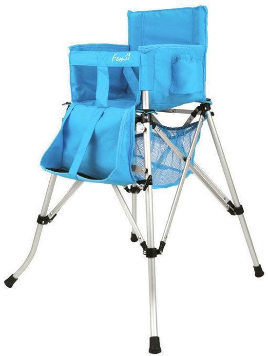 Kinderstoel Voor Op Reis.Bol Com Fem One2stay Travel Kinderstoel Blauw