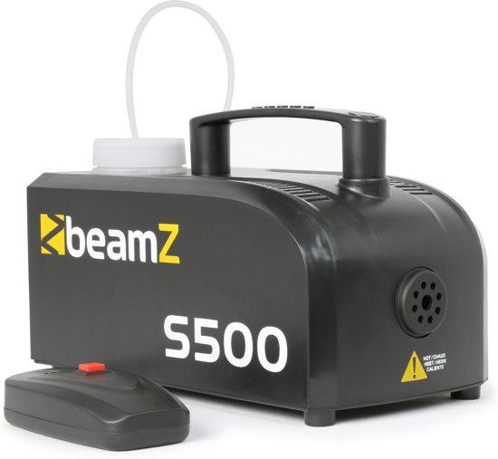 Compacte rookmachine - BeamZ S500