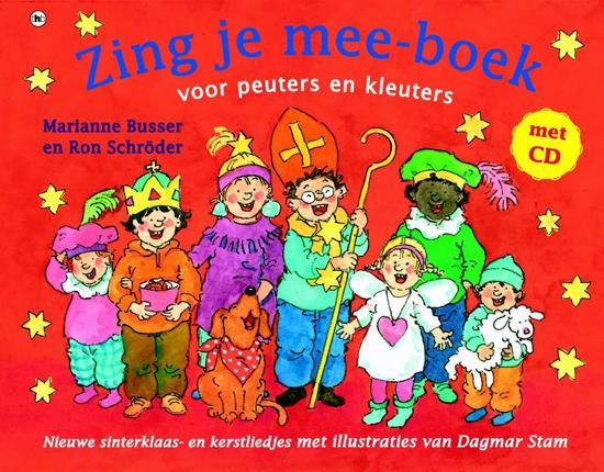Cover van het boek 'Zing je mee-boek voor peuters en kleuters' van M. Busser