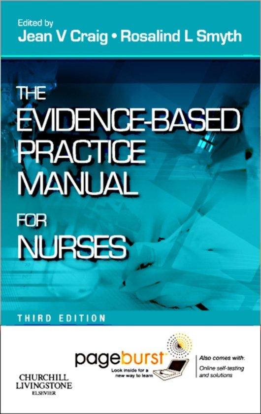 the evidencebased practice manual for nurses