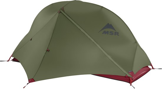 MSR Hubba NX v6 Tunneltent - 1 persoons - Groen