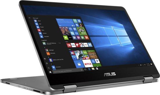 ASUS VivoBook Flip TP401NA-EC030T Grijs Hybride (2-in-1) 35,6 cm (14'') 1920 x 1080 Pixels Touchscreen 1,10 GHz Intel® Celeron® N3350