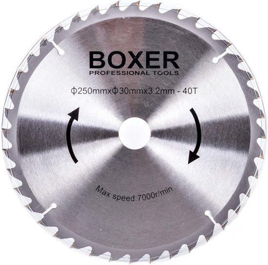 BOXER BX-2075 Verstekzaag – 1450 W – 210 mm - Afkortzaag + met extra zaagblad