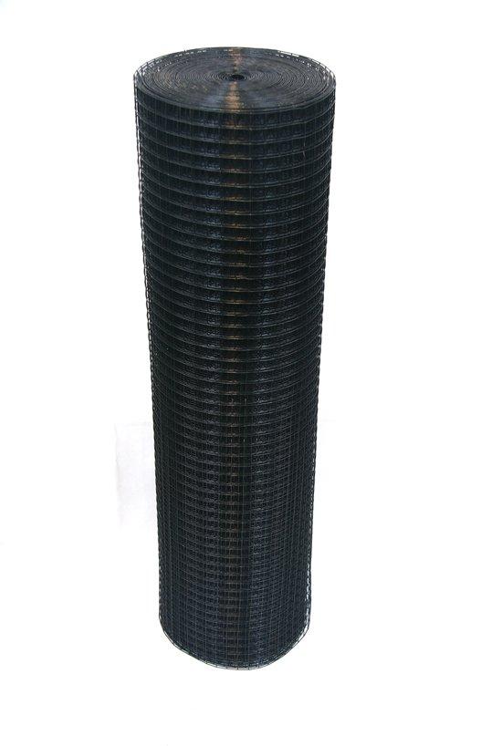 Voliere gaas 19 x 19mm 1,45mm 100cm x 10m Zwart