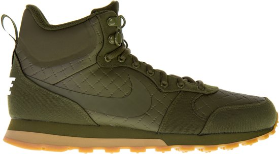 factory authentic b4866 b13e3 Nike MD Runner 2 Mid Sneakers Heren Sneakers - Maat 42.5 - Mannen - groen