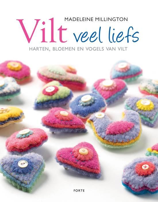 Boek cover Vilt veel liefs van Millington (Paperback)