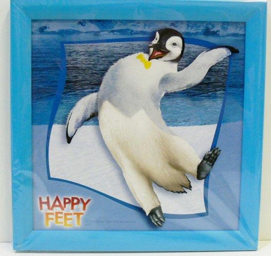 Schilderij Happy Feet 26 CM X 26 CM