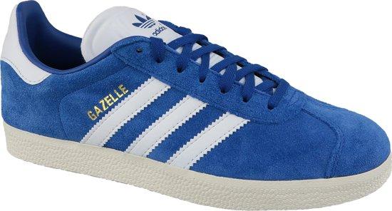 adidas Gazelle CQ2800, Mannen, Blauw, Sneakers maat: 37 1/3 EU