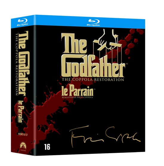 DVD cover van The Godfather Trilogy (The Coppola Restoration) (Blu-ray)