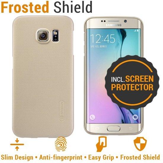 Nillkin - Frosted Shield hardcase hoesje - Samsung Galaxy S6 Edge - Goud