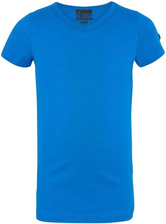 Retour T-Shirt Blauw - Maat 92