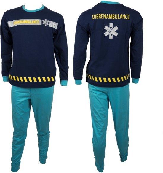 Fun2Wear Dierenambulance Pyjama Blauw maat 92