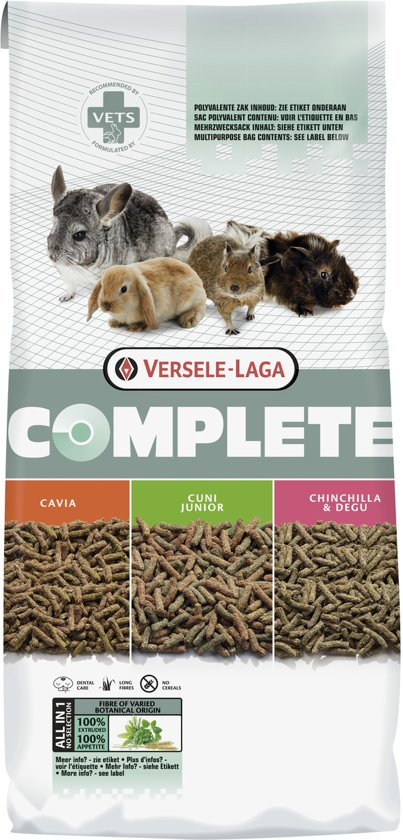 Versele-Laga Complete Cuni Junior - Konijnenvoer - 8 kg