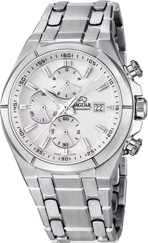 Jaguar Daily Class White horloge J665/1
