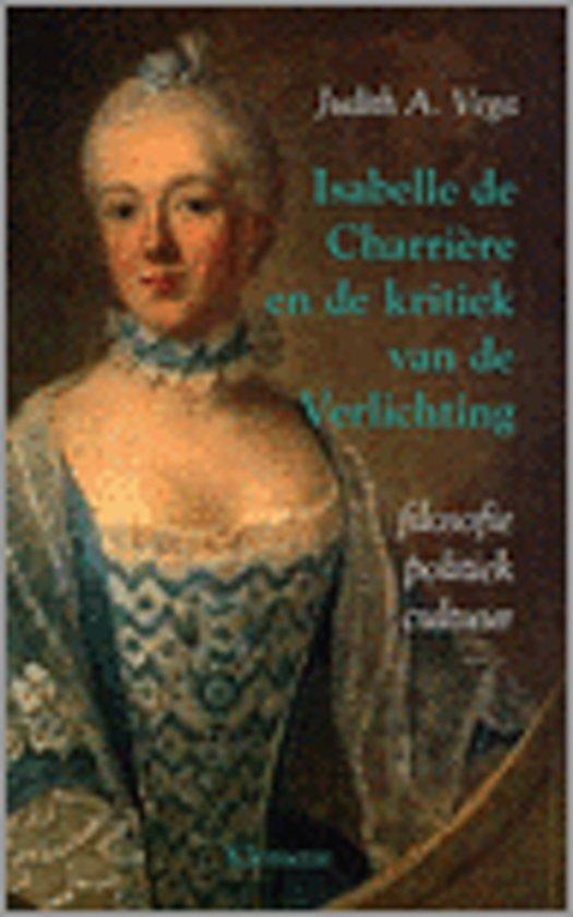 Isabelle De Charriere En De Kritiek Van De Verlichting
