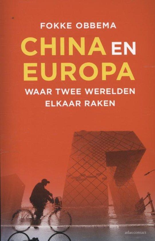 Boek cover China en Europa van Fokke Obbema (Paperback)