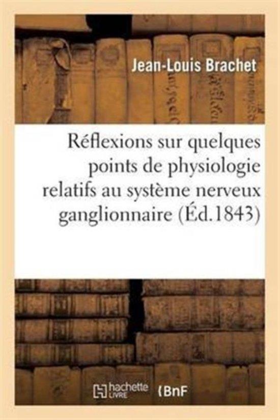 bol.com | R flexions Sur Quelques Points de Physiologie Relatifs Au ...