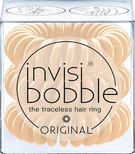 invisibobble ORIGINAL To Be Or Nude To Be - 3 stuks