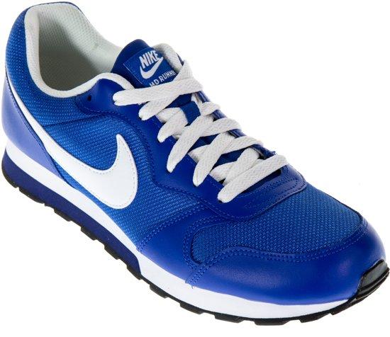 Runner Nike Md 2 Chaussures De Sport (gs) - Taille 36,5 - Femmes - Blanc / Rose / Bleu