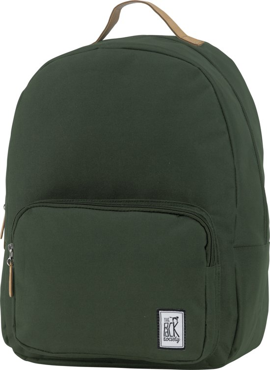 The Pack Society Classic Rugzak - Forest Green