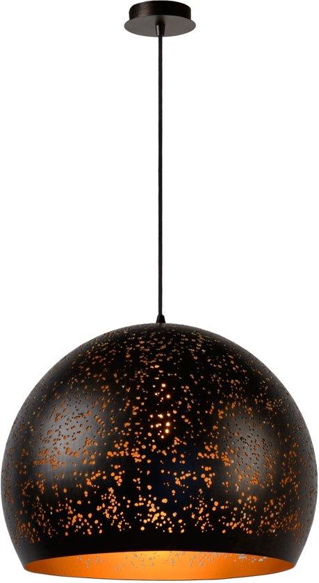 Lucide ETERNAL - Hanglamp - Ø 50 cm - Roest bruin