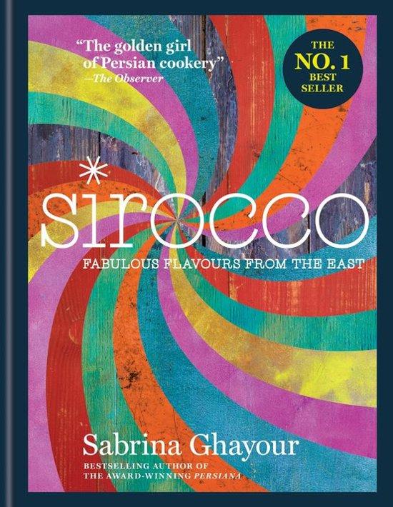 Boek cover Sirocco van Sabrina Ghayour (Onbekend)