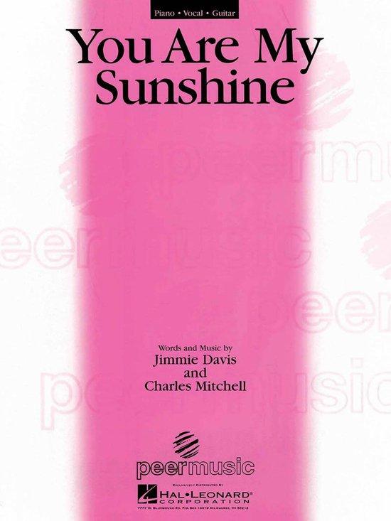 Bol You Are My Sunshine Sheet Music Ebook Jimmie Davis