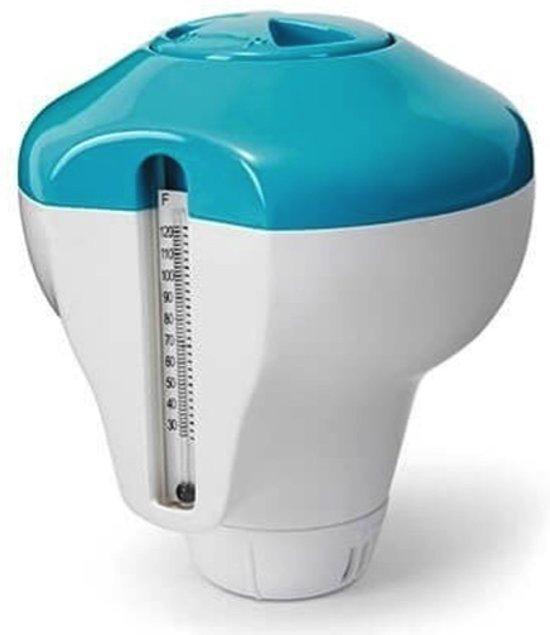 Intex 2-in-1 Chloordrijver en thermometer