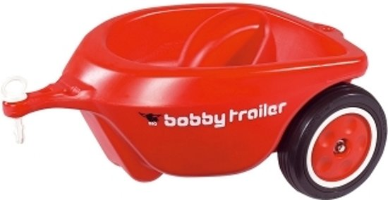 big bobby car aanhanger rood big speelgoed. Black Bedroom Furniture Sets. Home Design Ideas