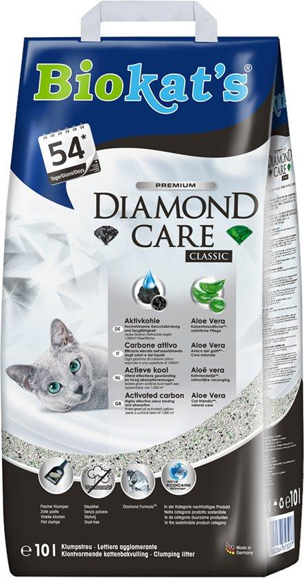 Biokat's Diamond Care Classic - Kattenbakvulling - 10 l