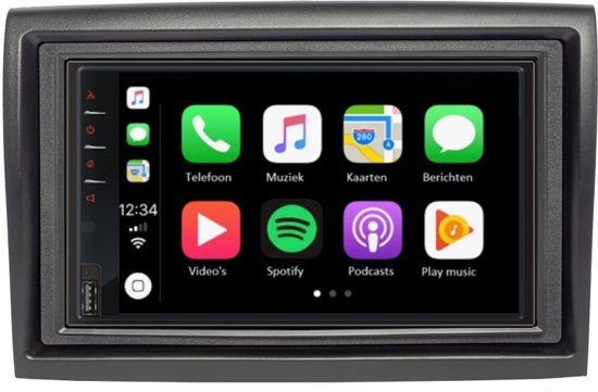 DAB+ Citroen Jumper 2006+  Carplay en Android auto navigatie autoradio