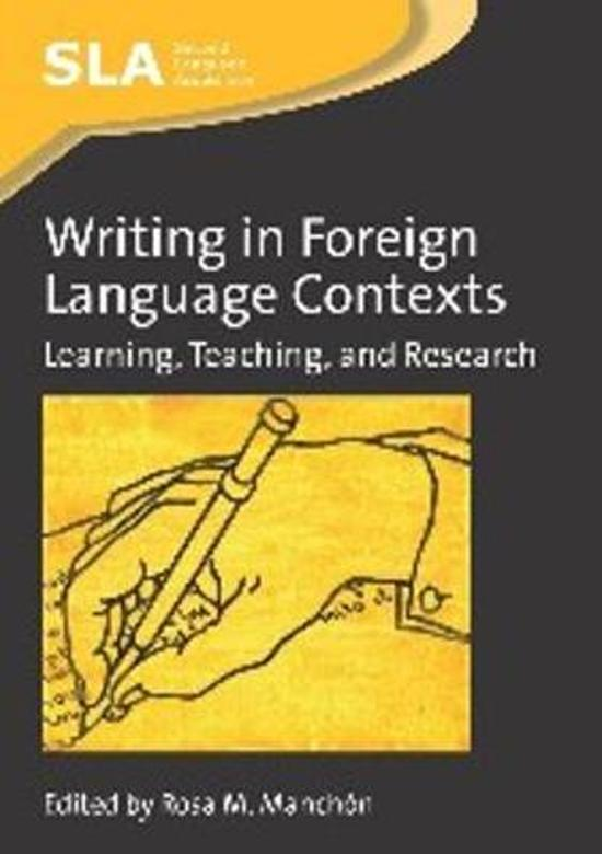 creative writing in a foreign language